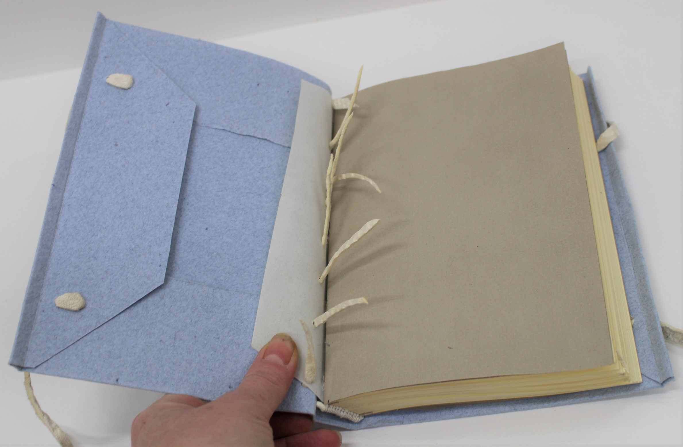 """Limp Conservation Binding in the Chris Clarkson Style"" with Ann-Marie Miller ACR, Book Conservator."