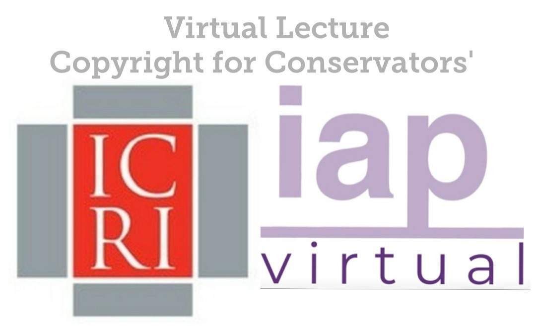 Virtual Lecture: Copyright for Conservators