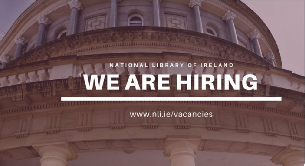 National Library of Ireland Conservation Internship