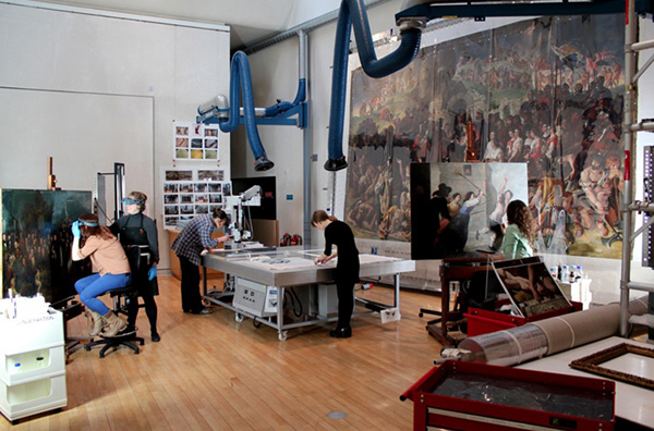 Behind the Scene at the National Gallery of Ireland